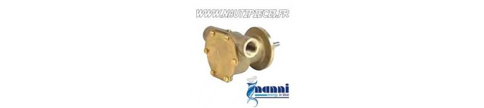 Pompe eau de mer et pièces detachées moteur NANNI DIESEL